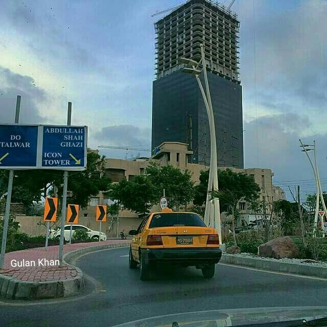 Bahria Icon tower Karachi beauty, Sindh Pakistan