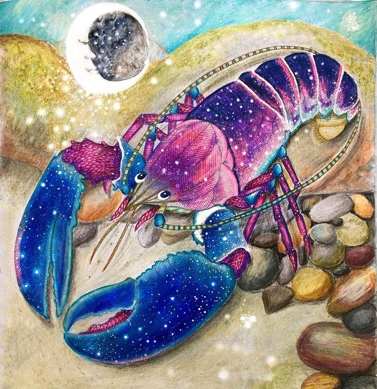 Istakozun düşleri!... ✨✨ #dreams #dreamer #moodoftheday #mood #fabercastell #polychromos #pencil #artsy #milliemarottaanimalkingdom #pencilwork #colours #coloredpencil #colorful #pencilart #arttherapy #milliemarotta #coloring_secrets #coloringpencils #creative #arts_secret #coloringtherapy #colorfuly #colorful #coloring #art #creativity #lobster #waterworld #sea #fantastic