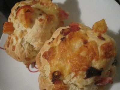 Cheese and Bacon Damper recipe
