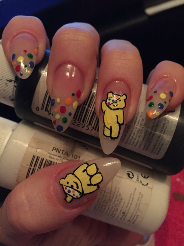 My children in need nails