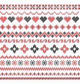 Vector cross stitch