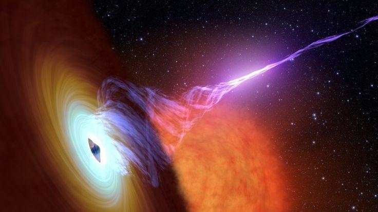 Rätselhafte Fontänen: Forscher blicken in Jets von Schwarzen Löchern - SPIEGEL ONLINE - Wissenschaft