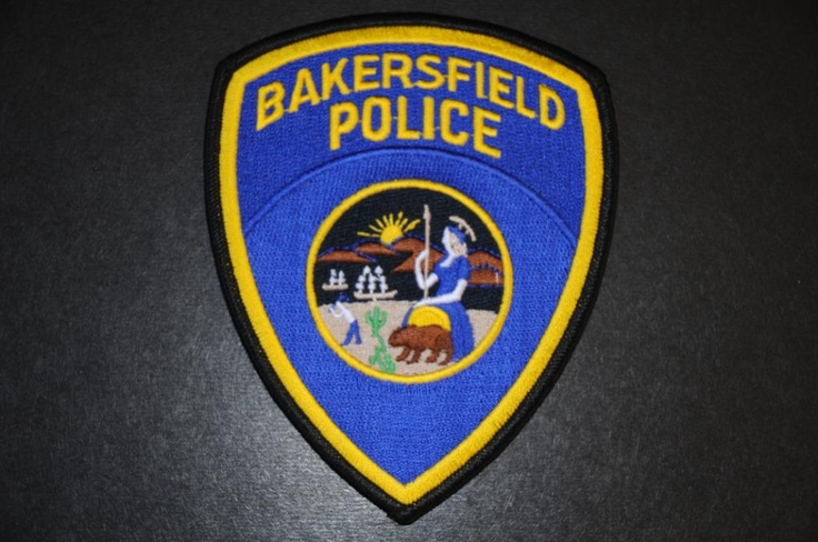 Bakersfield Police Patch, Kern County, California (Current