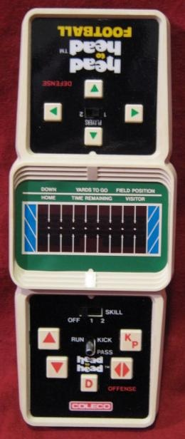 Coleco Head to Head Football- If you don't know You Missed Out on a CLASSIC.
