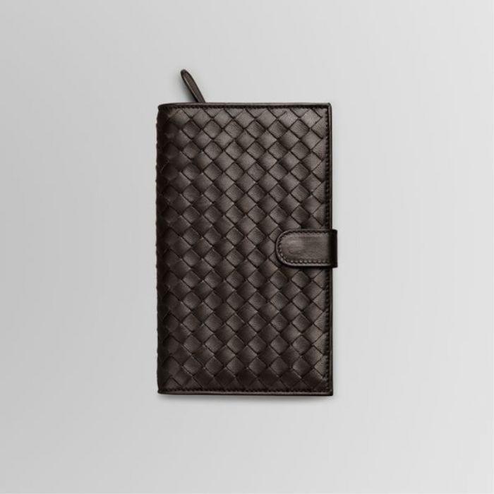 Bottega Veneta bags and Bottega Veneta handbags Bottega Veneta Ebano Intrecciato Nappa Continental Wallet I $243