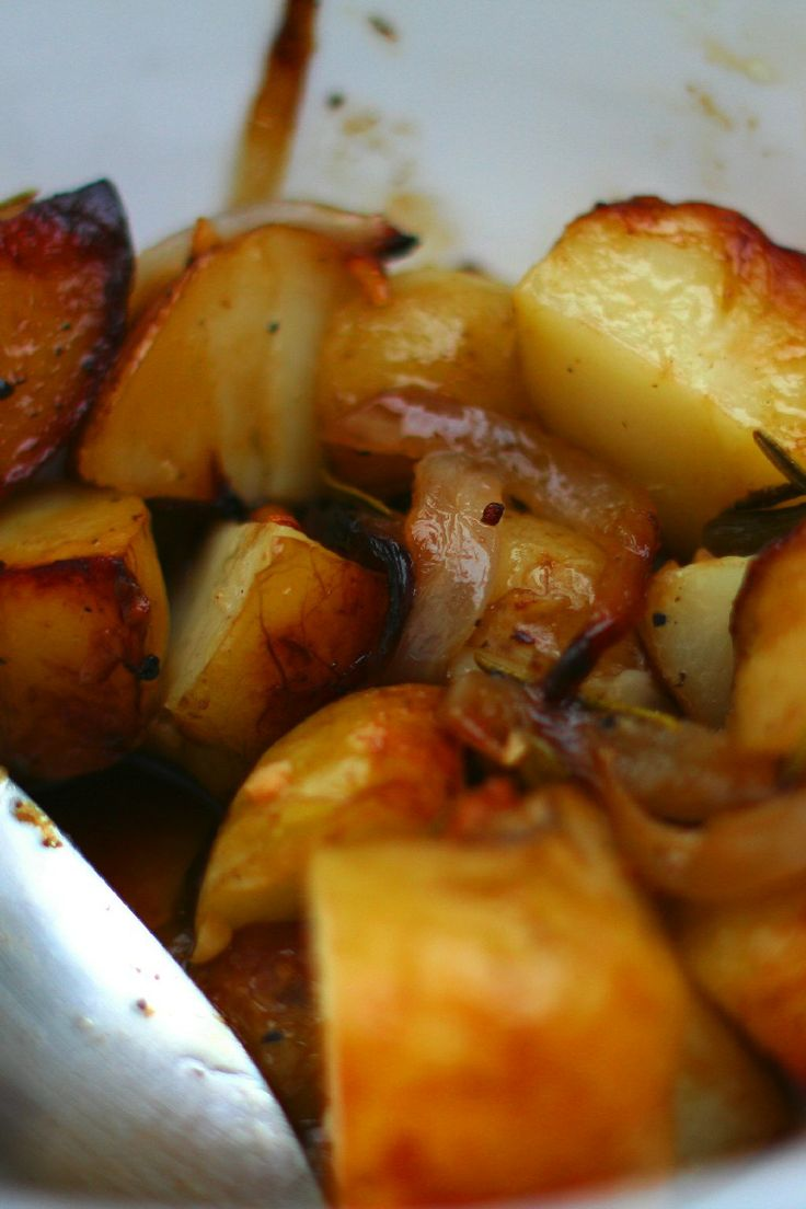 Grilled Potato and Onion Salad Recipe | Spuds | Pinterest