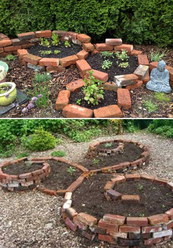 Garden Ideas With Bricks best 25+ brick planter ideas only on pinterest | brick garden