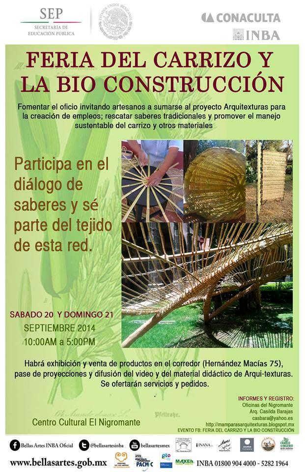 Feria del Carrizo y La Bio Construcción en San Miguel de Allende http://www.portalsma.mx/sma/index.php/noticias/2162-feria-del-carrizo-y-la-bio-construccion-en-san-miguel-de-allende #SanMigueldeAllende #SMA #Eventos #Turismo #Arte