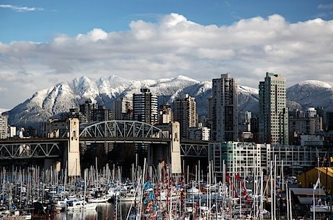 Vancouver, got to go back there and check if it's still so pretty
