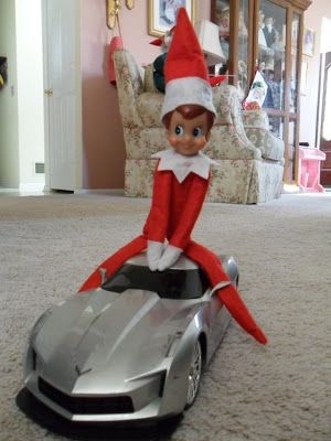 Elf on the Shelf Ideas - Life in The Bat Cave