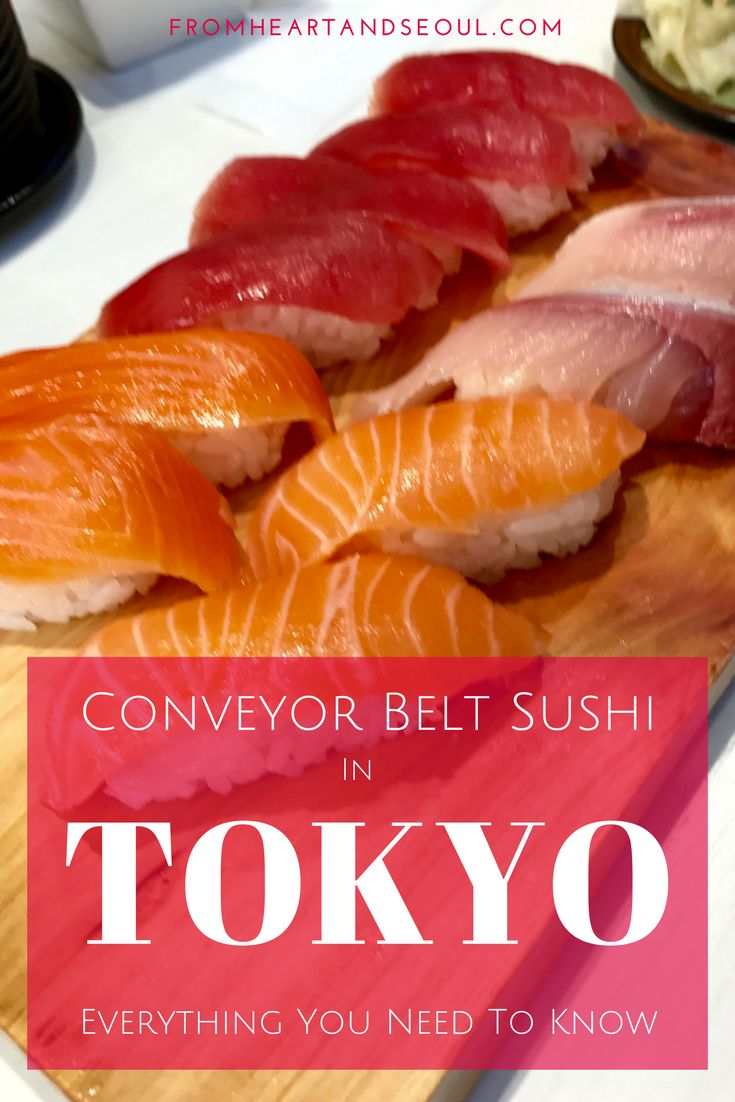 Conveyor Belt Sushi in Tokyo: Everything You Need to Know