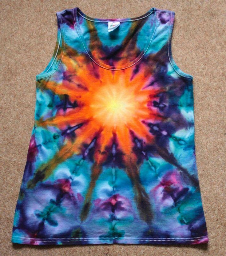 De 25 bedste id er inden for tie dye patterns p for Bleach dye shirt instructions