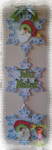 Arte de Atelie Crys: Ornamento del árbol de navidad