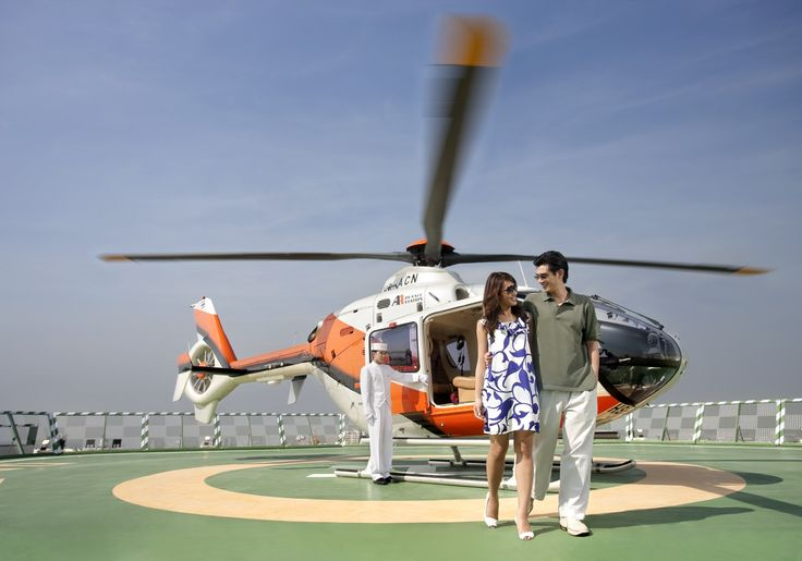 Helicopter transfers from Bangkok Suvarnabhumi Airport into the city center are not only exceptional time savers, they are a wonderful way to enjoy the city from an aerial  perspective!
