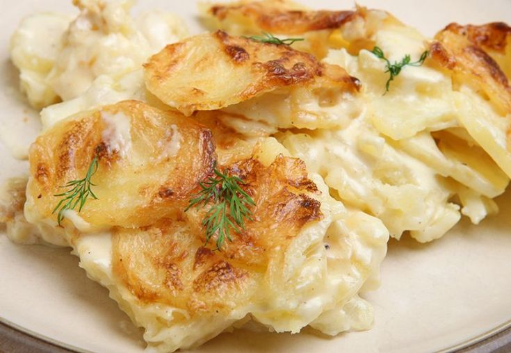 Πατάτες γκρατινέ