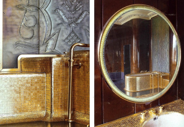 Image: The World of Interiors, May 2011, by Adrien Dirand - originally designed for King George VI and his wife Elizabeth.Location:Quai d'Orsay - Paris