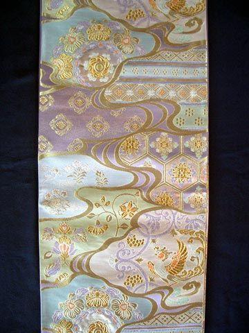 Kimono Eemonya | Rakuten Global Market: Kitao textile artisan for formal Fukuro splendid shoso-in national product statement