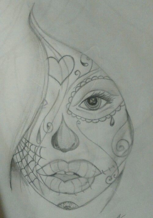 Sugarskull girl #2