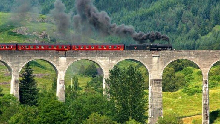 Trains in Scotland