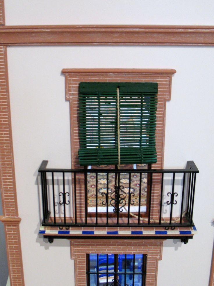 Casa popular Andaluza balcon