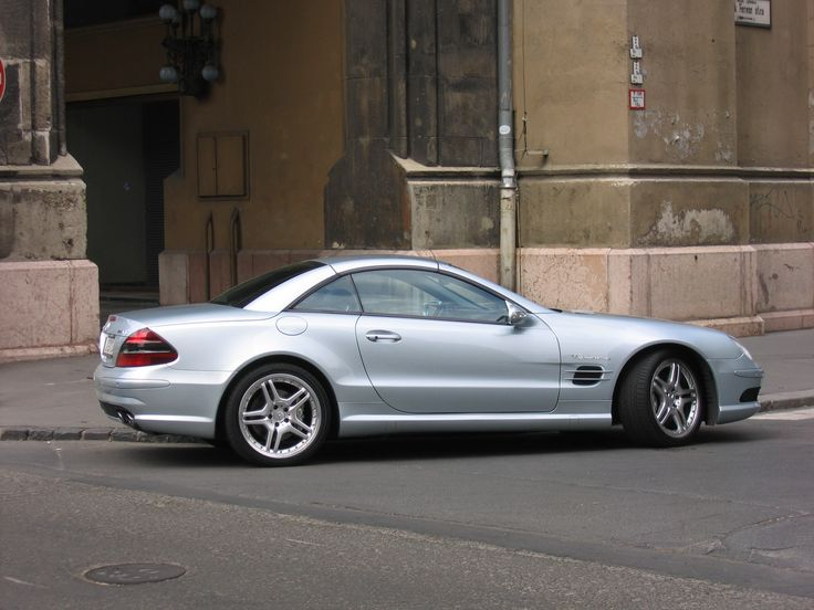Mercedes SL 55 AMG 2005 Pictures Gallery