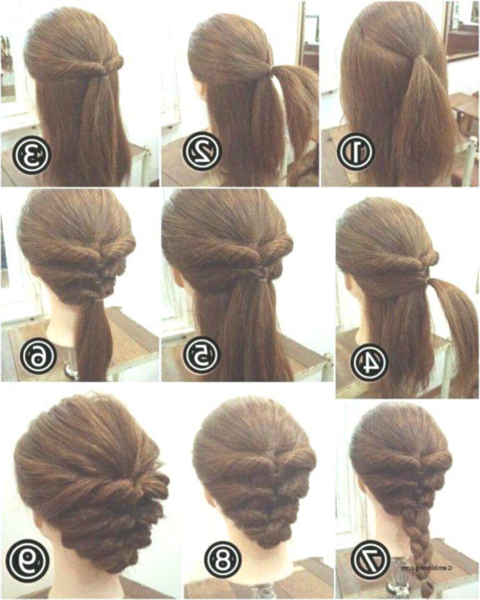 Einfache Frisuren Fur Kurzes Haar Schritt Fur Schritt Von Hochzeitsfrisuren Differenth Short Hair Styles Easy Easy Hairstyles Step By Step Hairstyles