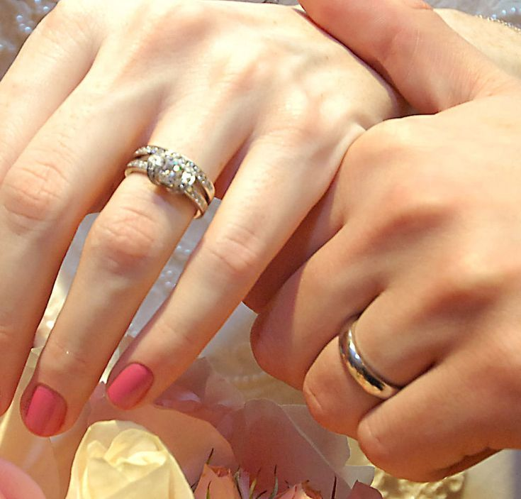 330432d1200185202 post photos only of your engagement for Real wedding ring