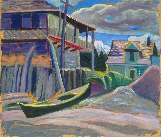 Les Boules, near Métis Beach Anne Savage, Beaver Hall Group