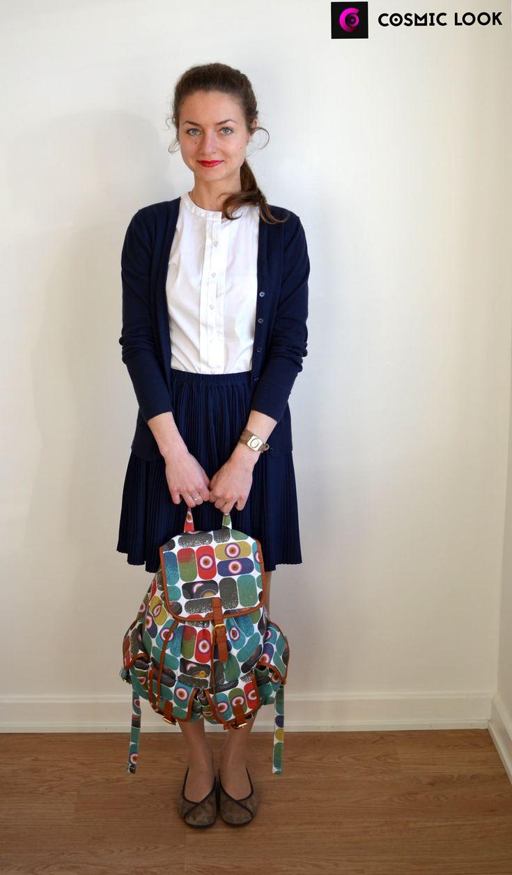 "Модный лук июня: ""Abi-Look"" #coolbags #backpack #мода #модныйлук #ярко #вкусно #cosmiclookcom #cosmiclook #fashion #look  #clothes #style #lookbook #summer #рюкзак #юбка #жакет #skirt #women"