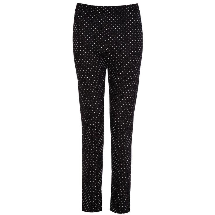 'Bethan Ankle Grazer' Pin Spot Trousers