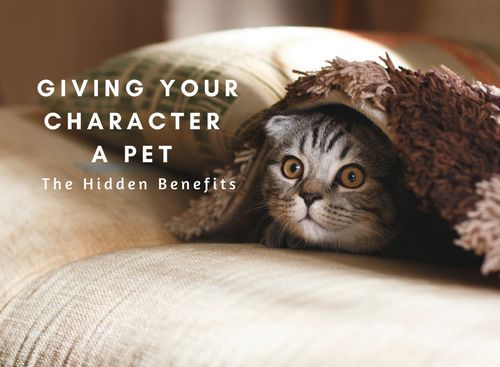 Giving my characters pets has helped me overcome some tricky writing situations. From enhancing my characters to moving plots forward, these animal characters have at times been my saving grace.
