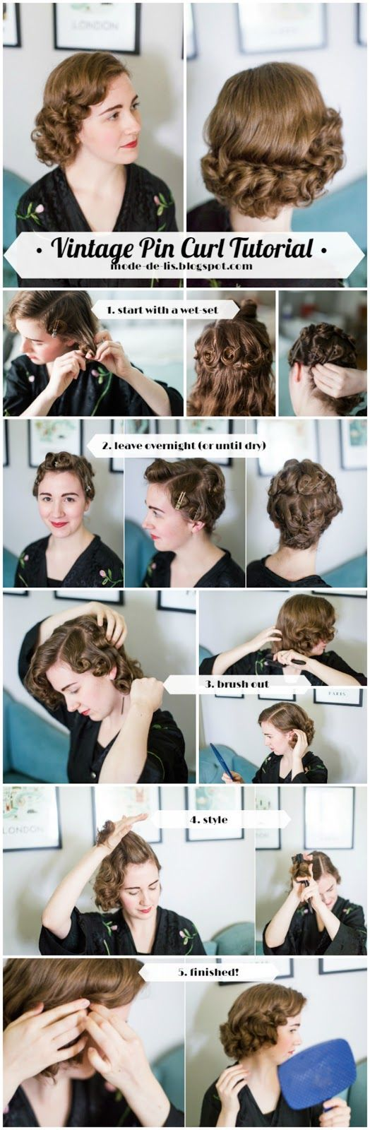 It seemed like it was about time to finally post another update on my current endeavors with vintage hairstyling!  You can read through all...