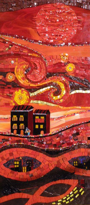 hanansen mosaics | Yulia Hanansen's Mosaic Sphere Studio: mosaics in Baltimore, MD