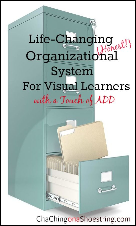 If you struggle with finding an organization system that works for you, then you must read this post. You'll never think of your filing cabinet the same again!