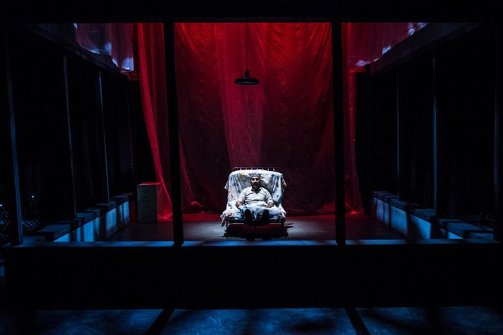 The Pillowman. Forum Theatre. Scenic design by Paige Hathaway.