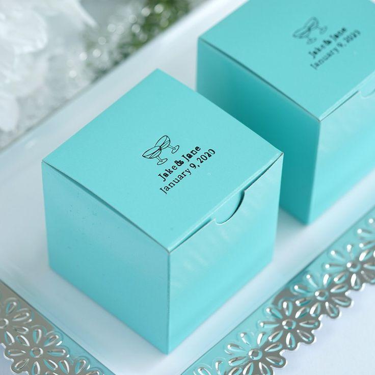 100pcs personalized wedding favors party favor boxes