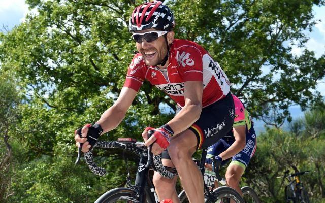 Tour d'Espagne: Lotto-Soudal se présentera avec huit Belges au départ dont Maxime Monfort -                  L'Australien Adam Hansen sera le seul représentant étranger de l'équipe belge lors de la Vuelta, qui débutera le 20 août prochain en Espagne.  http://si.rosselcdn.net/sites/default/files/imagecache/flowpublish_preset/2016/08/11/1409440512_B979419121Z.1_20160811143106_000_G3O7CV183.2-0.jpg - Par http://www.78682homes.com