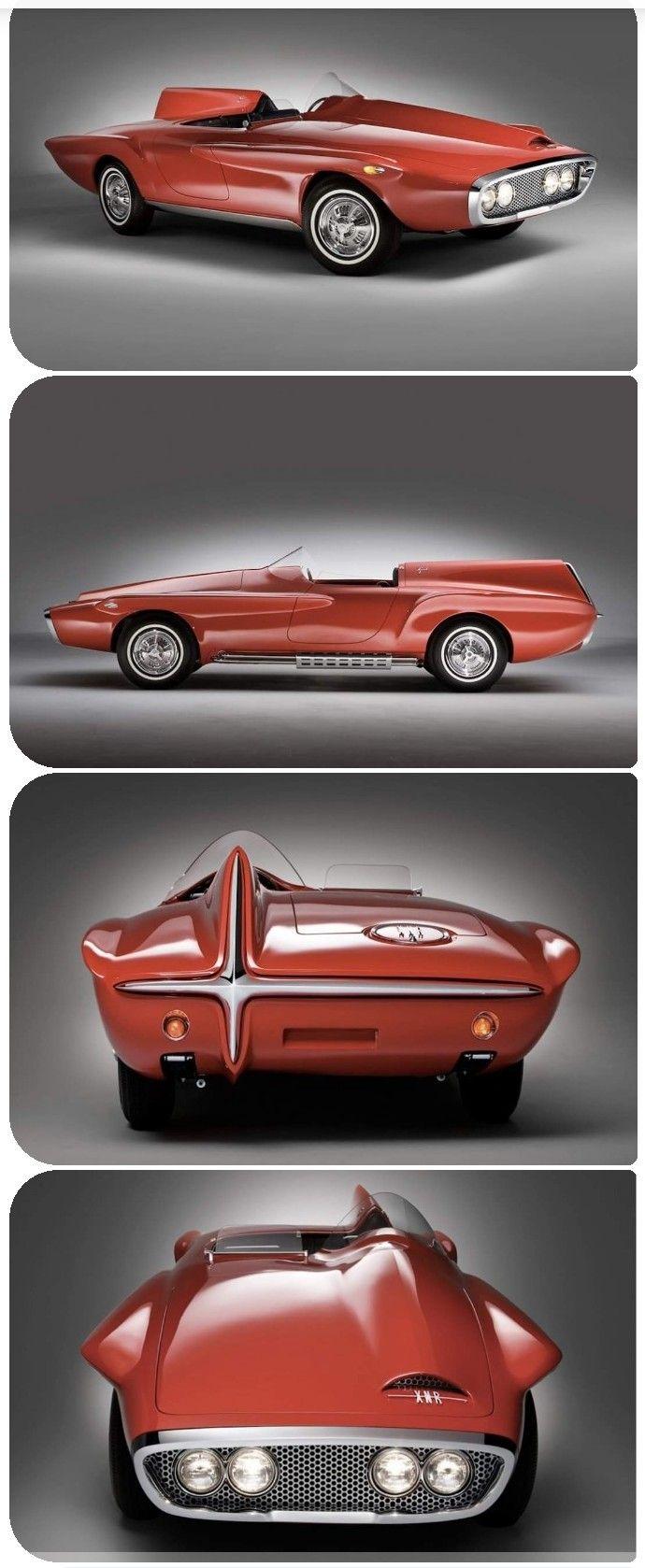 1960 Plymouth Xnr Concept Coches Clasicos Carros Clasicos Autos