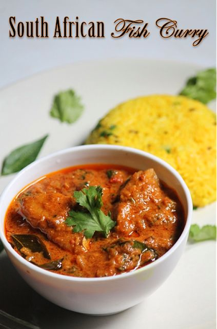 YUMMY TUMMY: South African Fish Curry Recipe - Mchuzi Wa Samaki Recipe