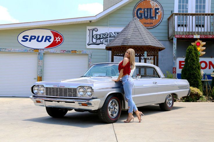 Cool Awesome 1964 Chevrolet Impala  1964 Chevy Impala SS 409 Tribute Rotisserie Resto Disc Brakes Muncie Four Speed 2018