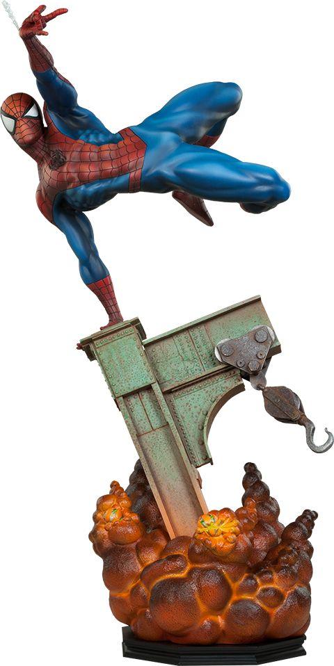 [SIDESHOW] O Espetacular Homem-Aranha: Estátua Premium Format do Cabeça de Teia