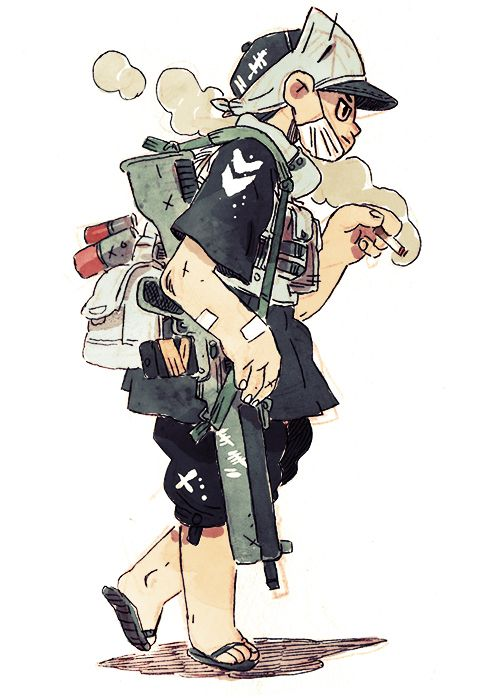 junk gallery | character research