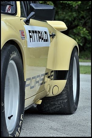 1974 Porsche 911 RSR IROC The Emerson Fittipaldi Car presented as lot S116 at Monterey, CA 2012 - image9