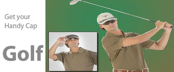 You sunglasses won't fall off while your golfing now thanks to the TCap!