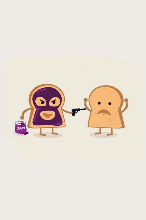 Lol xD Pan con mermelada/Pan
