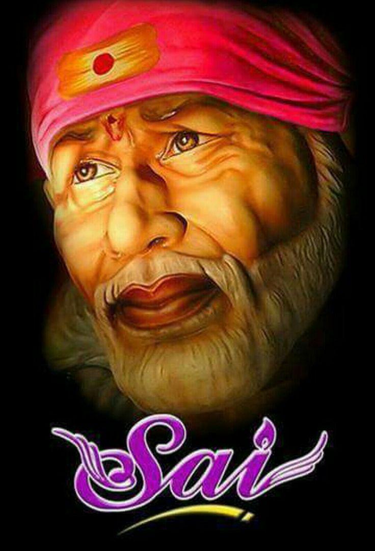 Om sai ram   Faith   Sai baba hd wallpaper, Sai baba, Baba ...