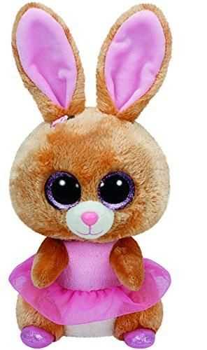 "Ty Beanie Boo BUDDY Twinkle Toes the Bunny - 9"" Medium"