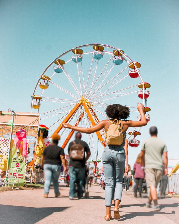 Ferris wheel state fair pic ideas