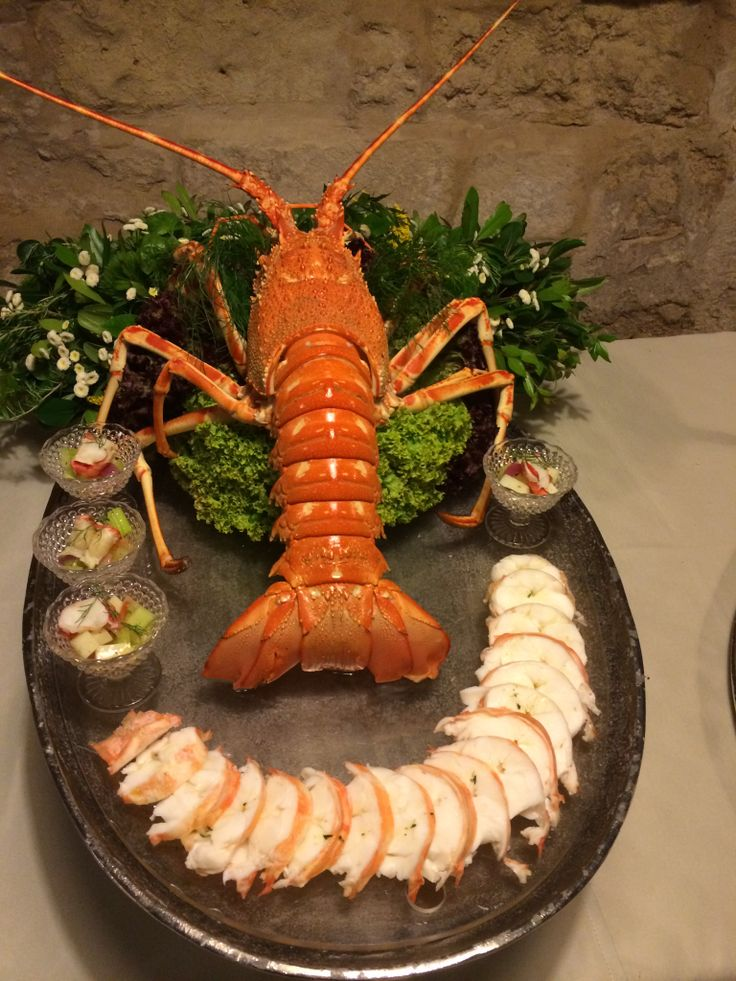 Lobster in a south Italy wedding menu. Lecce #Salento #fish #torredelparco