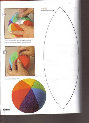 Las chorradikas de Laury: Tutorial cómo hacer una pelota de juguete segura para bebés
